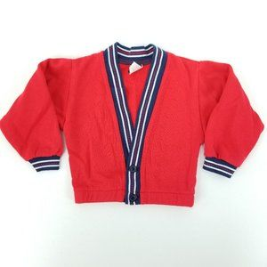 90s All Dressed Up Baby 18M Acrylic Cardigan USA